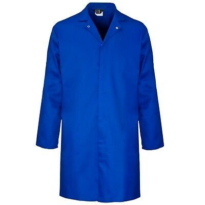 Supertouch Mens Polycotton Food Coat Warehouse Laboratory Smock S to 4XL New