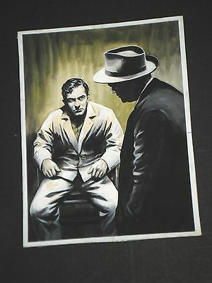 Original painted Cover Art from 1959, published CRIME-PULP - by KARL STEPHAN !!