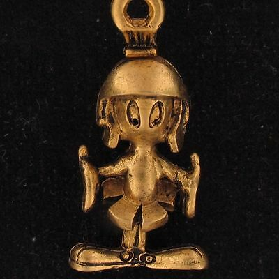 CHARM Marvin The Martian WARNER BROS LOONEY TUNES Gold NEW WB STORE 4211