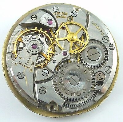 Cortebert Wristwatch Movement - Caliber 677S - Spare Parts / Repair