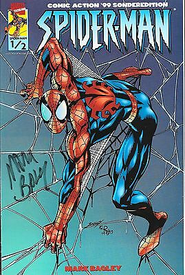 Spider-Man Nr.1/2 / 1999 Comic Action Sonderedition / Signiert von Mark Bagley