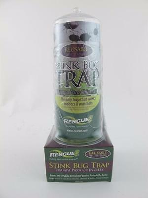 Rescue NEW Reusable STINK BUG TRAP & ATTRACTANT BAIT Control Indoor & Outdoor