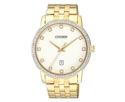 Citizen Men's 40mm BI5032-56A Stainless Steel Watch - Gold/White