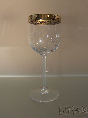 """Lenox AUTUMN Gold Encrusted Wide Band 7 3/8"""" Wine Glass-More Available!"""