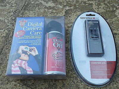 JOB LOT LAPTOP PC ACCESSORY SET NEW Cleaning Kit Air Duster Cloth CD DVD Repair