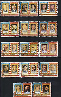 Equatorial Guinea 14 old used stamps