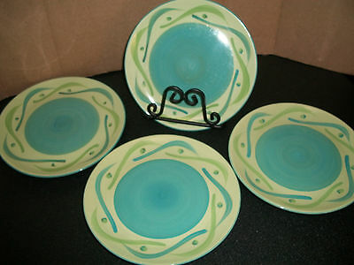 Ieuc 4- Southern Living At Home Provence Swirly Salad Plates Gail Pittman