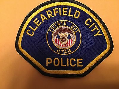 Clearfield Utah  Police Shoulder  Patch