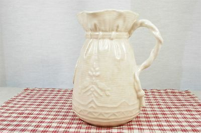 Shaw and Copestake SylvaC Vintage 'Bag' style Vase, Rope Handle mid '40's. 8""