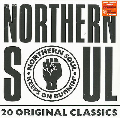 NORTHERN SOUL LP x 2 - 20 Original Classics COLOURED Vinyl Record Store Day 2017