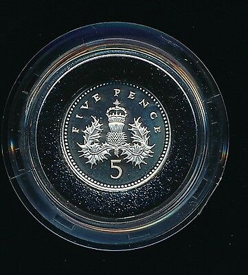 2006 Elizabeth II Silver Proof - 5p FIVE PENCE Coin....Fast Post