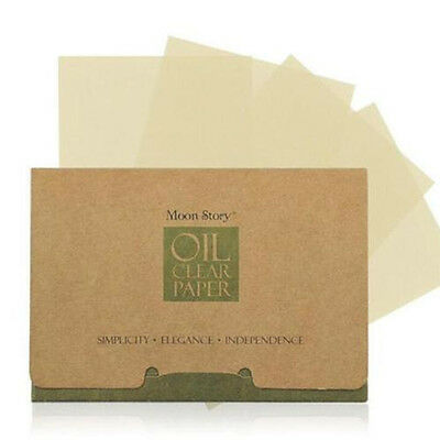 100 Sheets Summer Girl Oil Control Blotting Paper Facial Makeup Clean Tissue UK