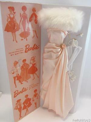 My Favorite Barbie Fashion Vintage Repro Enchanted Evening Gown Shoes Jewelry