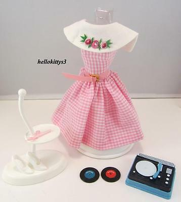 My Favorite Barbie 1964 Vintage Repro #1626 Dancing Doll Fashion & Record Player