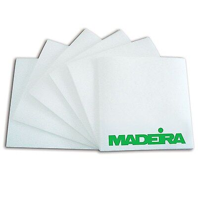 4000 x White Pre Cut Squares Easy Tear 50g Madeira Embroidery Stabiliser Backing