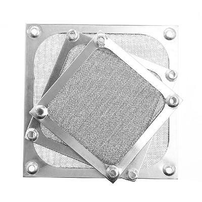 Metal Dustproof Mesh Dust Filter Net Guard 12/9/8cm For Computer Case Cooler Fan
