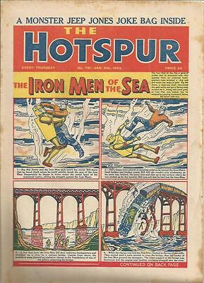 Hotspur  Comic   No 791  5th January  1952