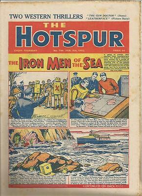 Hotspur  Comic   No 796  9th February  1952