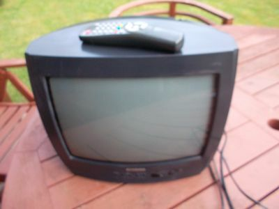 """Samsung 14"""" Crt Colour Tv With Remote Control"""