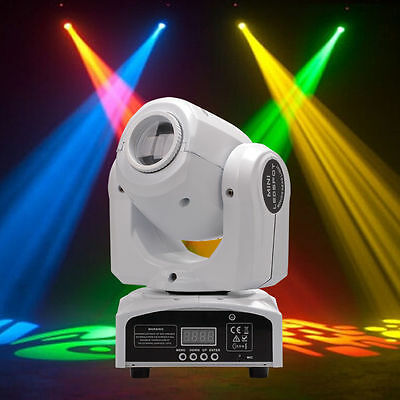 60W RGBW Stage Light Beam LED Moving Head Lights DMX Disco DJ Bar Party Lighting