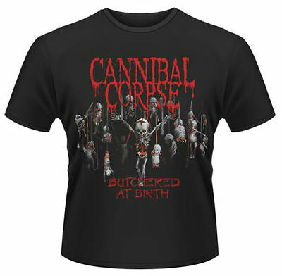 Cannibal Corpse T Shirt Butchered At Birth 2015 Official Black Mens Rock Merch