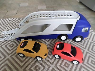 Little Tikes Car Transporter With Cars Free Post Uk