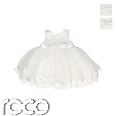 Baby Girls Ivory Dresses, Girls Christening Dresses, Girls Butterfly Dress