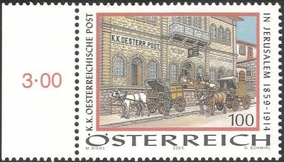 Austria 2005 Post Office Building/Mail Coach/Horses/Transport/Animals 1v at1085