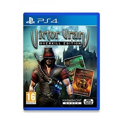 Victor Vran Overkill Edition PS4 Game - Brand New!