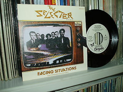 """THE SELECTER 7"""" Facing Situations Ska spanish promo w/l SPAIN Mint"""