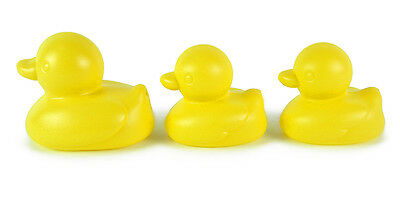 Rubber Duck Bath Time Baby Fun Toys Yellow Pack of 6