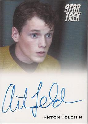 "Star Trek Movie 2009 - Anton Yelchin ""Chekov"" Autograph Card"