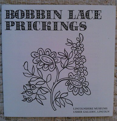 7 Bobbin Lace Prickings Usher Gallery, Lincolnshire