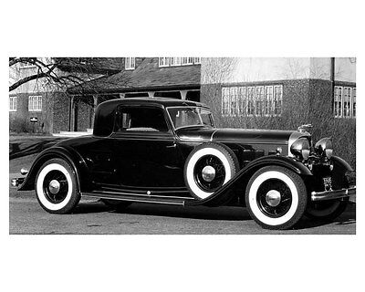 1932 Lincoln Factory Photo uc6567