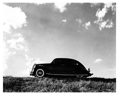 1936 Lincoln Zephyr Factory Photo uc6616