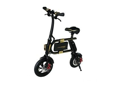 SWAGTRON SwagCycle E-Bike Folding Electric Bicycle with Handlebar Display