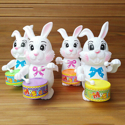 1PC Fashion Baby Boy Girls Rabbit Drum Educational Developmental Musical Toy TOU
