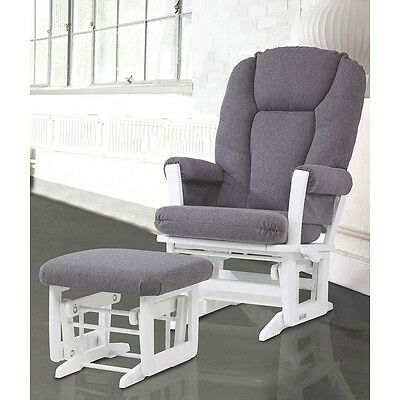 Dutailier Ultramotion Modern Glider-multiposition, recline and nursing ottoman