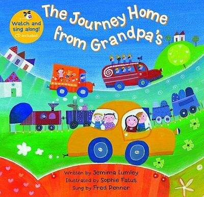 The Journey Home From Grandpa's (A Barefoot Singalong) New Paperback Book Jemima