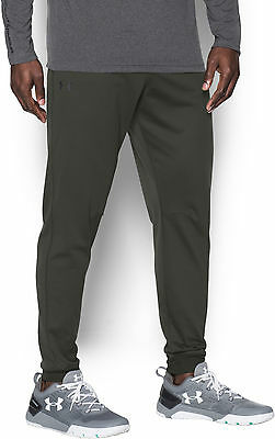 Under Armour ColdGear Sportstyle Mens Track Pants - Green