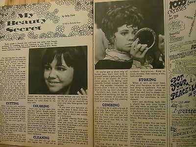 Sally Field, Two Page Vintage Clipping