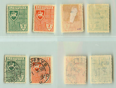 Lithuania, 1936, SC 296-297, mint and used. f1006