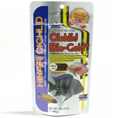 HIKARI  Cichlid Bio - Gold 57g,250g Mini,Medium