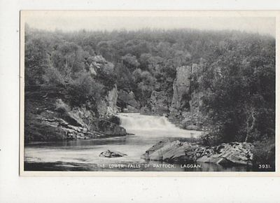 The Lower Falls Of Pattock Laggan Vintage Postcard 439a