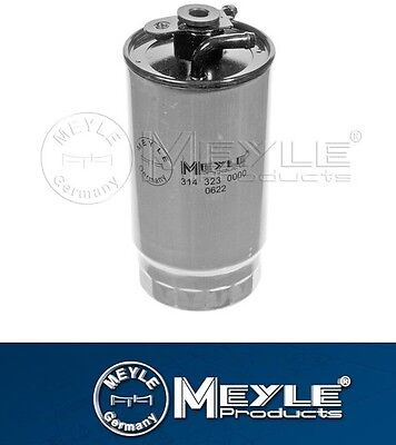 Fuel Filter BMW E39 525d, 530d cars built after 03/2000 Meyle manfct 13327787825