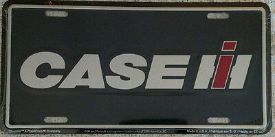 Case IH Metal License Plate - NEW - NIP - Collectible - Licensed Product