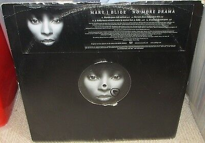 """Mary J. Blige – No More Drama (Remixes) ft P Diddy 12"""" Vinyl"""