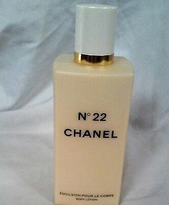 Chanel No. 22 Perfume Emulsion Pour le Corps Body Lotion 6.8 oz New