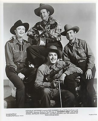 """8""""x10"""" b&w still, FOY WILLING & THE RIDERS OF THE PURPLE SAGE"""