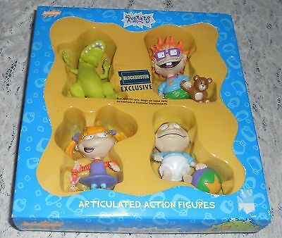 New Rugrats Dino Reptar-Chuckie Finster -Angelica-Tommy Pickles Figures
